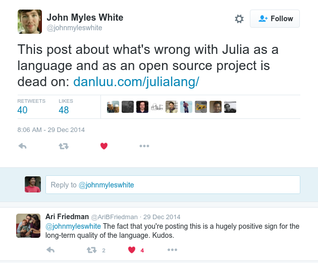 julia is awesome
